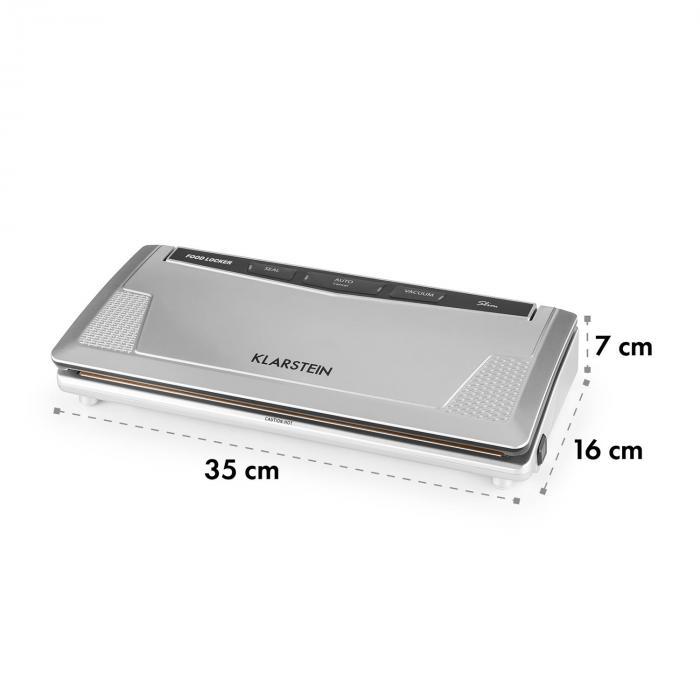 FoodLocker Slim vakuumikone 130 W 30 cm kaksinkertainen sauma 10 pussia