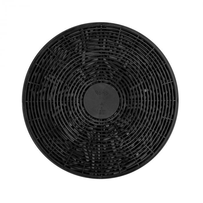 Aurea VII Campana extractora Set de circulación de aire 60cm Filtro de carbón activado negra
