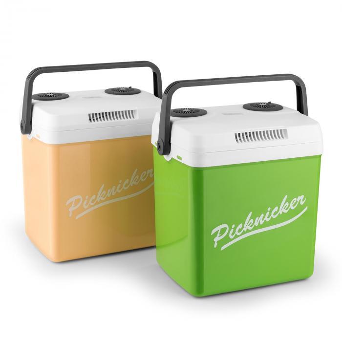 Picknicker XL kylmälaatikko 32 l A++ AC DC auto vihreä
