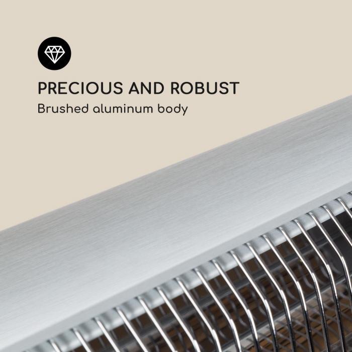 Rising Sun Infrared heaters 850/1650/2500 W Aluminum