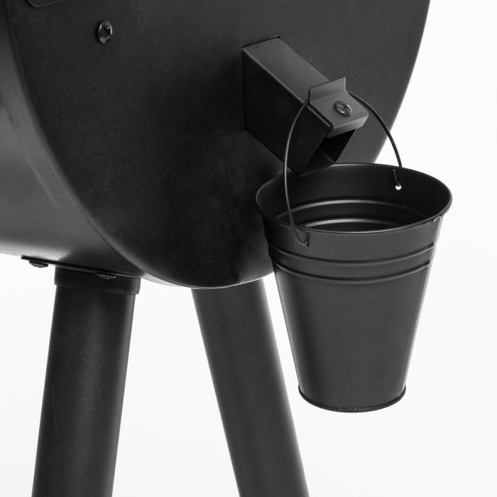 The Boss Barbecue a Pellet Smoker Grill a Convezione 250 °C max. 260W Nero