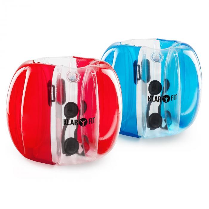 Bubball KR Bubble Ball Calcio Bambini 75x110cm EN71P PVC rosso