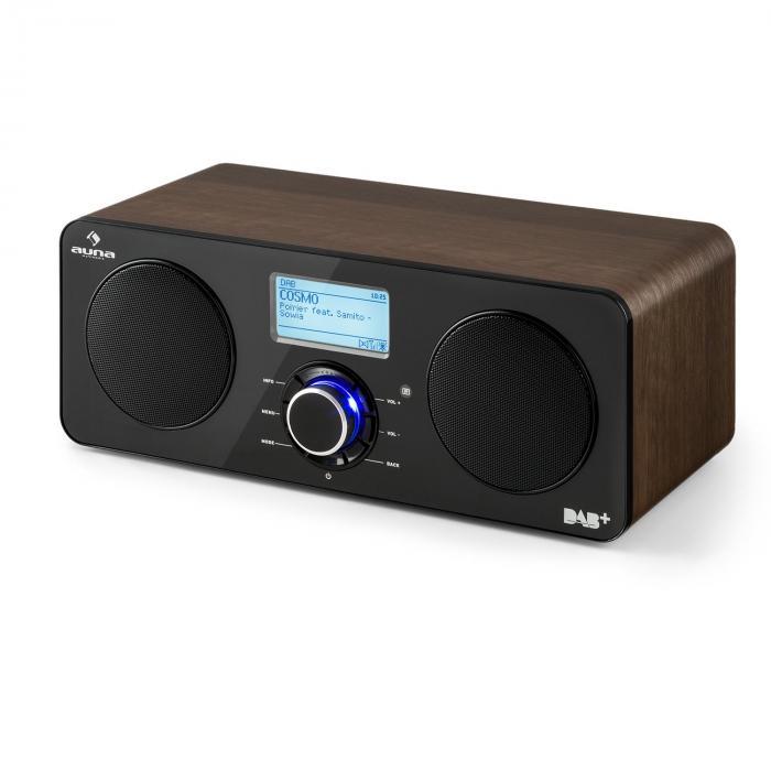 Worldwide Stereo Internet Radio Spotify Connect App Control Walnut