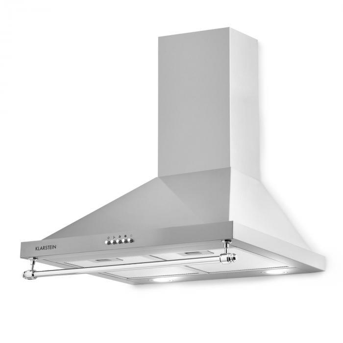 Montblanc liesituuletin 610 m³/h 165 W 2 x 1,5 W LED teline hopeanharmaa