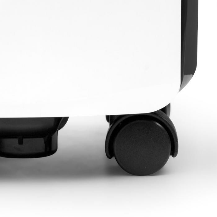 DryFy 16 luchtontvochtiger compressie 16l/24h 255W timer wit-grijs