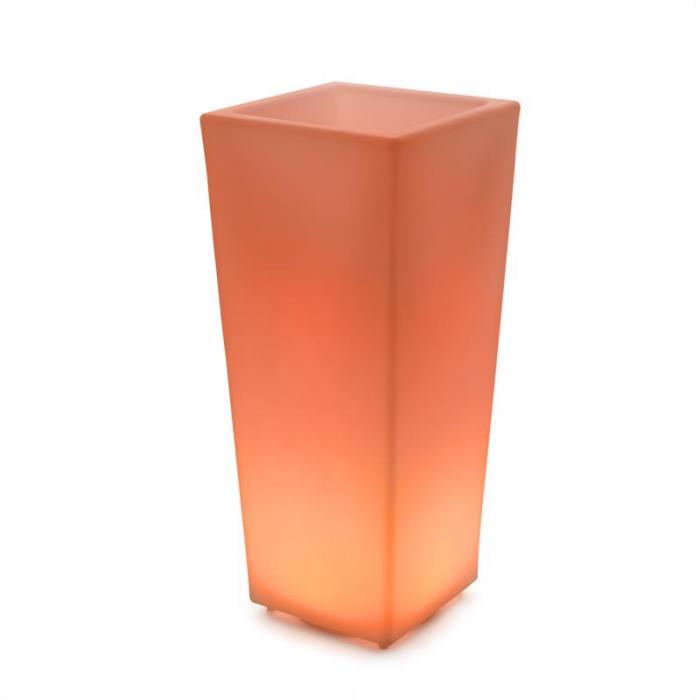 Starflower Vaso per Fiori LED Polietilene Telecomando Angolare