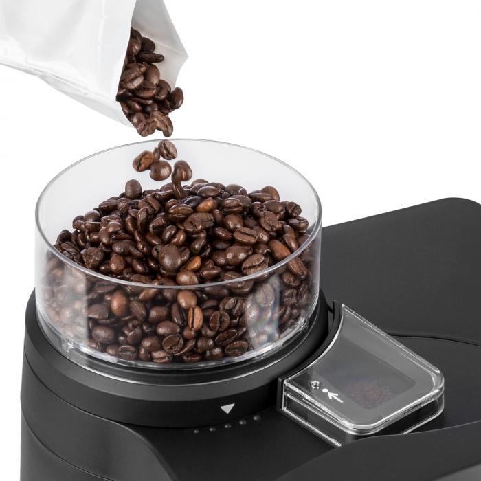 Aromatica Set Macchina Per Caffè Macinino 10 Tazze Brocca In Vetro/Thermos Acciaio Inox