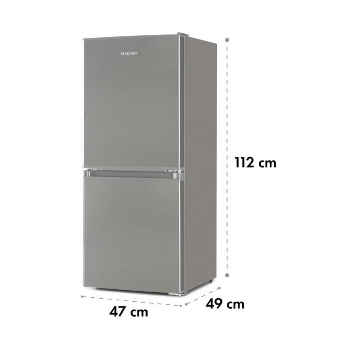 Big Daddy Cool 100 Fridge-Freezer 106 Litres A + Stainless Steel Look