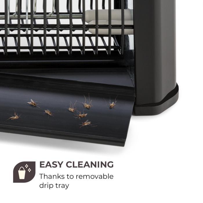 Mosquito Ex 4000 Insektenvernichter 30W UV-Licht 100m² schwarz