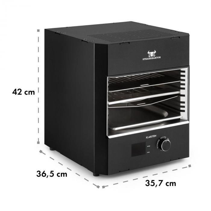 Steakreaktor Pro -sisägrilli korkealämpötilagrilli valmistettu Saksassa