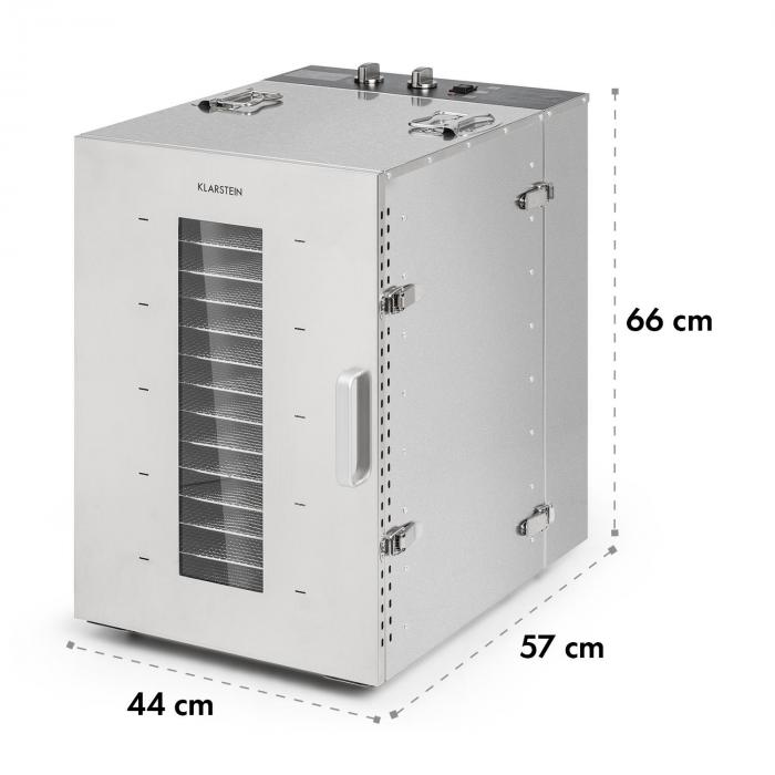 Master Jerky 16 Dörrautomat 1500W 40-90 °C 15h-Timer Edelstahl