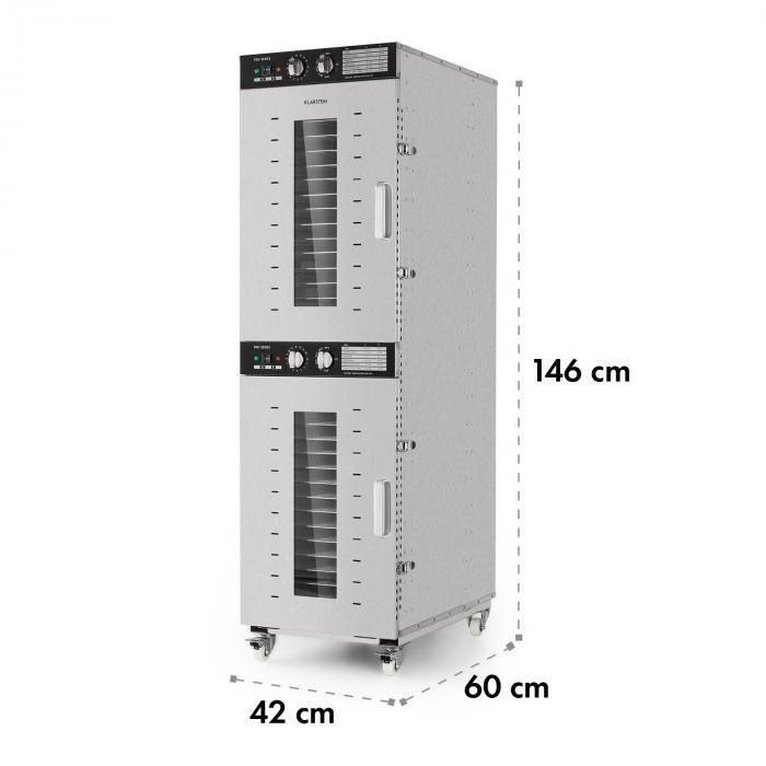 Master Jerky 32 Dörrautomat 4500W 40-90 °C 15h-Timer Edelstahl silber