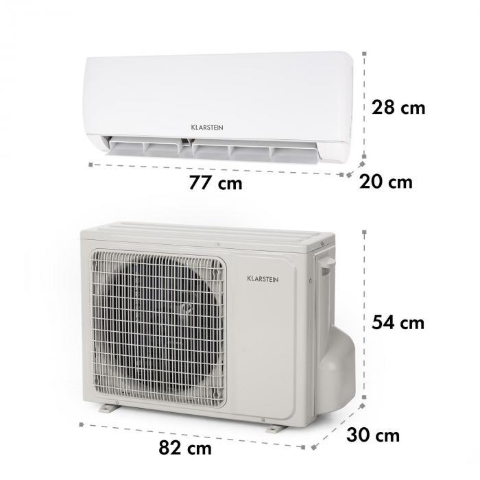 Windwaker Smart Split-Klimaanlage 600m³/h 800/750W 9000 BTU