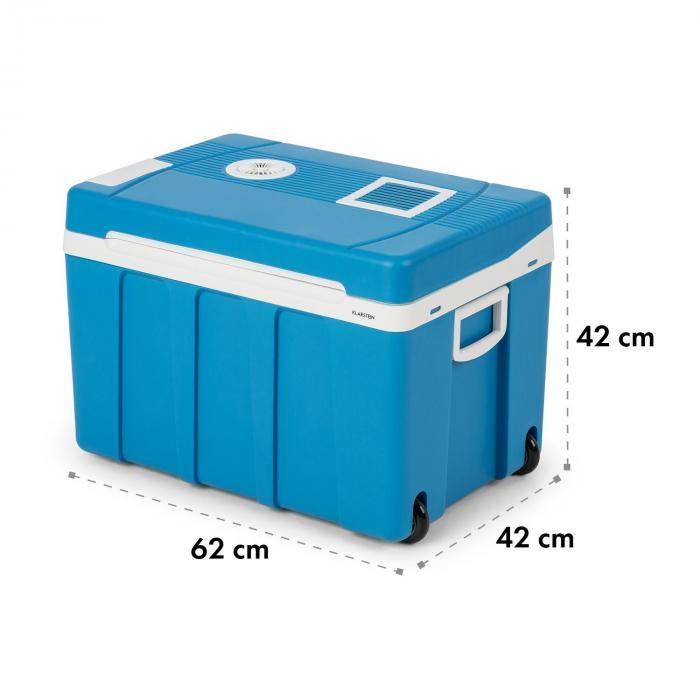 BeerPacker borsa termica 50 litri A+++ AC/DC trolley blu