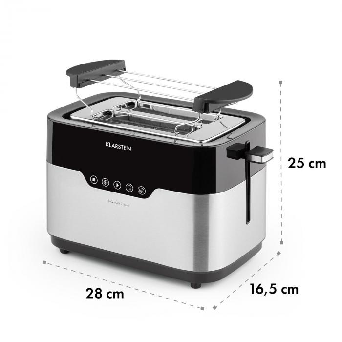 Arabica Toaster 920W LED Display Touch-Control Stainless Steel