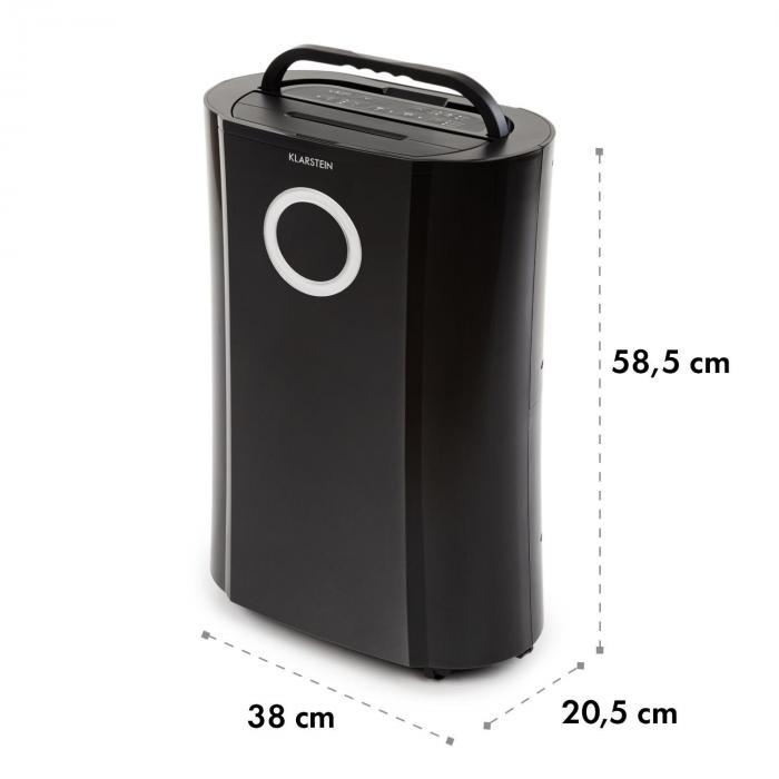 ionizador y funci/ón UV Blanco KLARSTEIN DryFy Pro Connect deshumidificador Potencia 370 W Deshumidificador por compresi/ón purificador de Aire Integrado con Filtro Interfaz WiFi