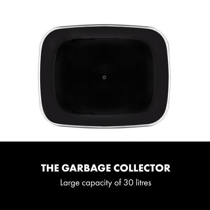 Cleansmann 30 Waste Bin Sensor 30 Litres for Bin Bags ABS Chrome-Plated