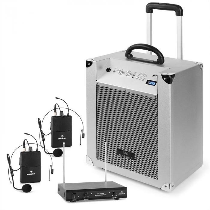 Dispositivo Audio Portatile Con Radiomicrofono | Sistema Audio con B